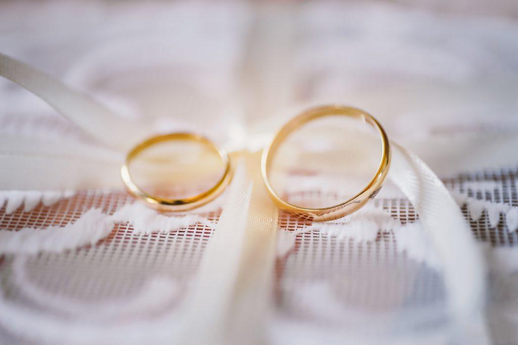 Complementos de la novia, anillos